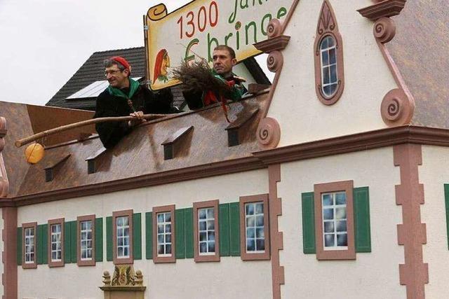 Fotos: Der Narrenumzug in Ebringen