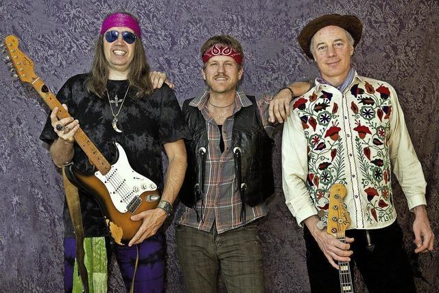 Maxoom spielen psychedelischen Blues-Rock der 60er