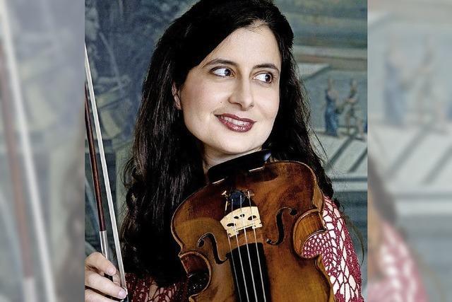 Zu Gast: Ariadne Daskalakis (Geige) und Paolo Giacometti (Hammerflügel)