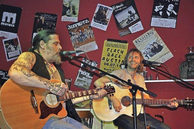 Rock, Folk und eine Portion echter Blues im Rockcafé