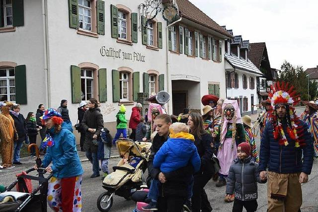 Fotos: Kinderfasnacht in Hausen