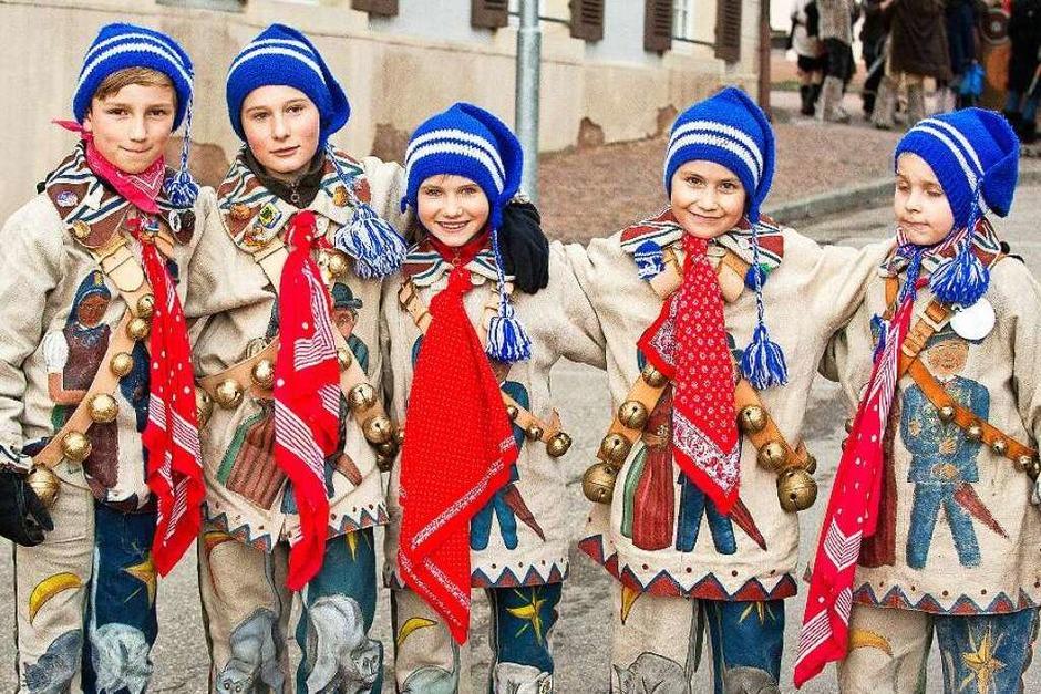 Der Kinderumzug in Bonndorf zieht alljährlich Zuschauer aus nah und fern an. (Foto: Wolfgang Scheu)