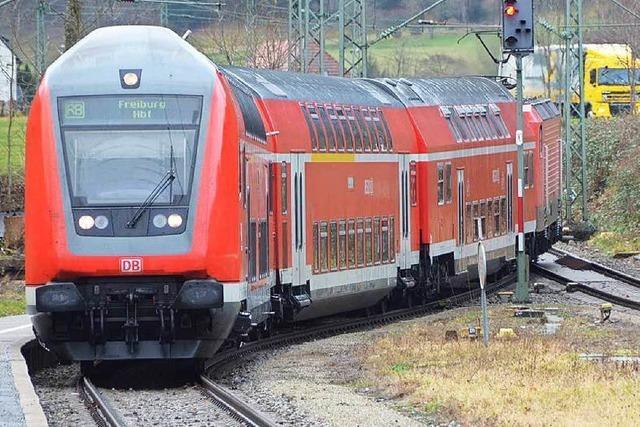 Höllental- und Dreiseenbahn: Zugverkehr nach Unwetter eingeschränkt