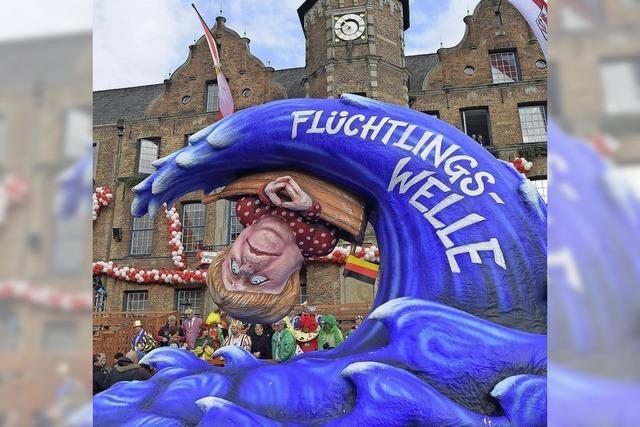 Rosenmontagsumzug in Düsseldorf ausgefallen