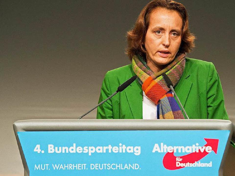 Beatrix von Storch, AfD-Vize    Foto: dpa
