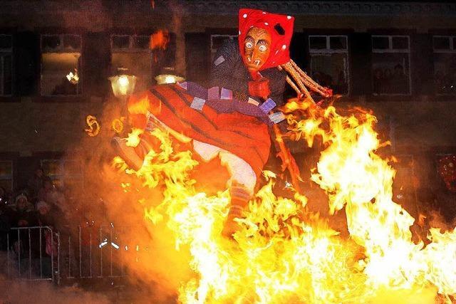 Hexenzünfte in Offenburg und Gundelfingen sagen Feuer-Aktionen ab