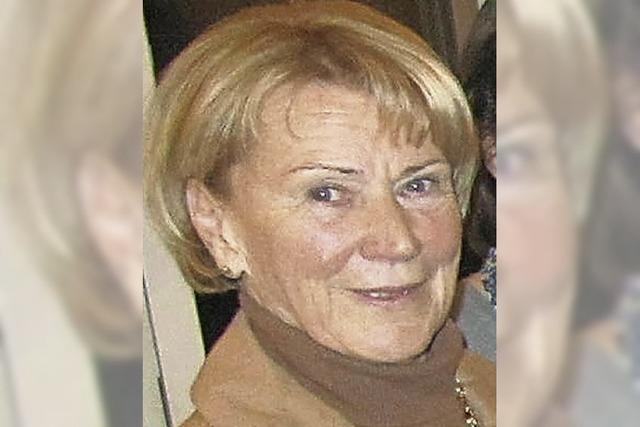 Mit Marianne Dunkel-Müller in St. Blasien