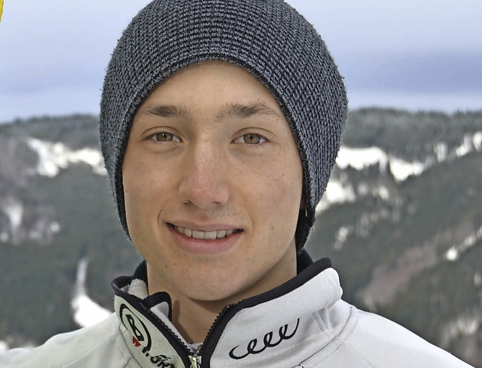 <Ergebnis>Erster FIS-Sieg: </Ergebnis>Yannik Zeller vom SC Oberried    Foto: UMS