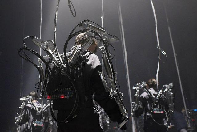 Louis-Philippe Demers' interaktive Roboterperformance