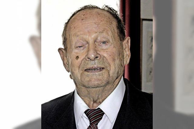 70 Jahre in der SPD - Ehrung für Ringsheims Alt-Bürgermeister Greber