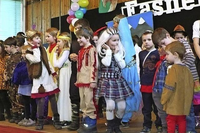 Auch die Kinder sind vom Fasnetvirus infiziert