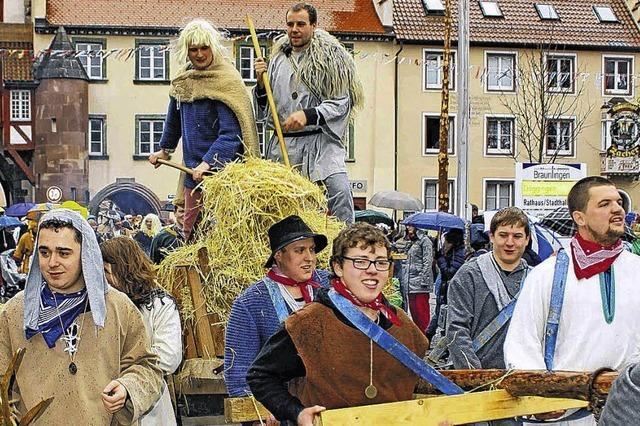 Brilinger schlagen Römer in die Flucht