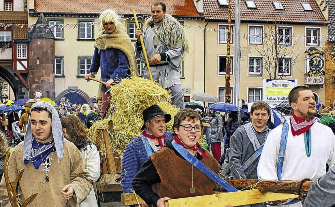 Die Alemannen zogen durch ihr Dorf  Brülingen.     Foto: Dagobert Maier