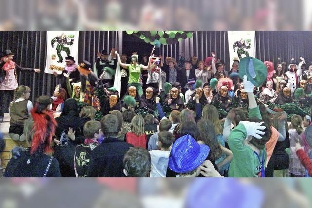Schüler feiern Fasnet