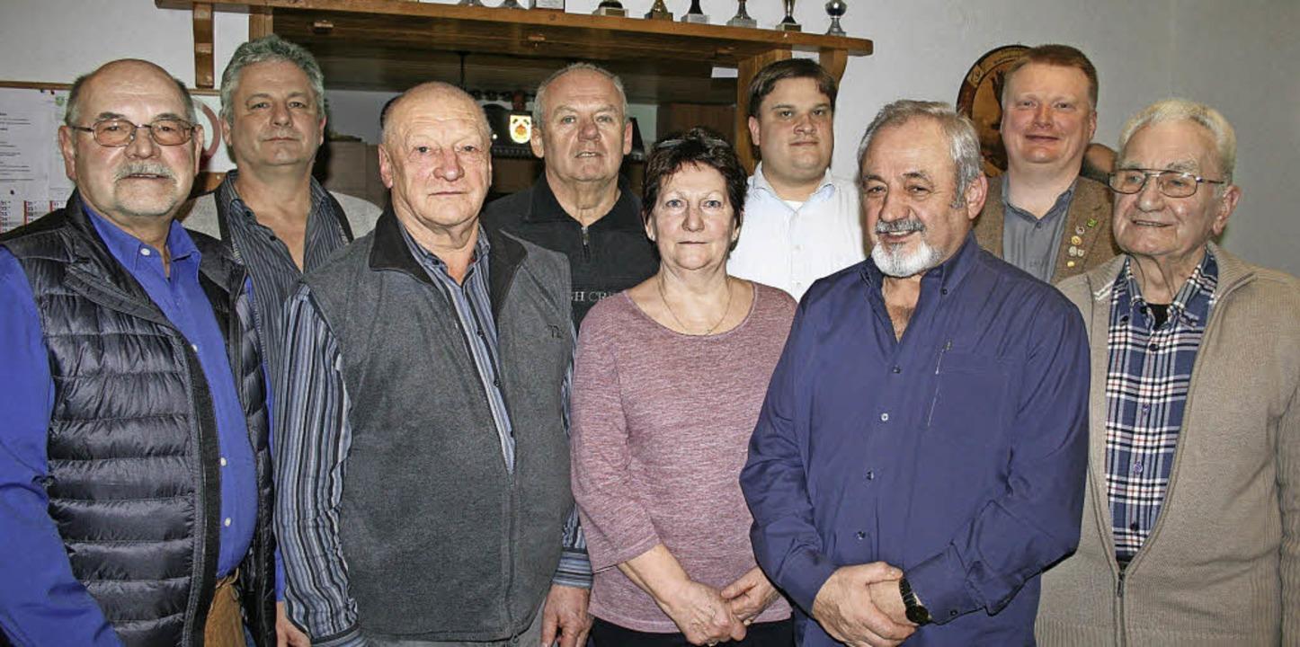 Ehrungen beim KKSV (v.li.): Manfred Wa...nkel und Günter Hagin. Foto: Ines Bode  | Foto: Ines Bode