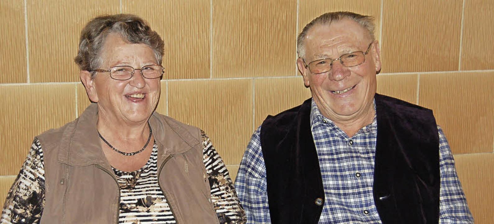 Anneliese und Emil Sprich feiern goldene Hochzeit.   | Foto:  Ulrike Jäger