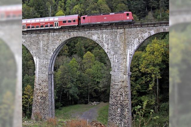 Eingleisige Bahnstrecken sind keine Seltenheit