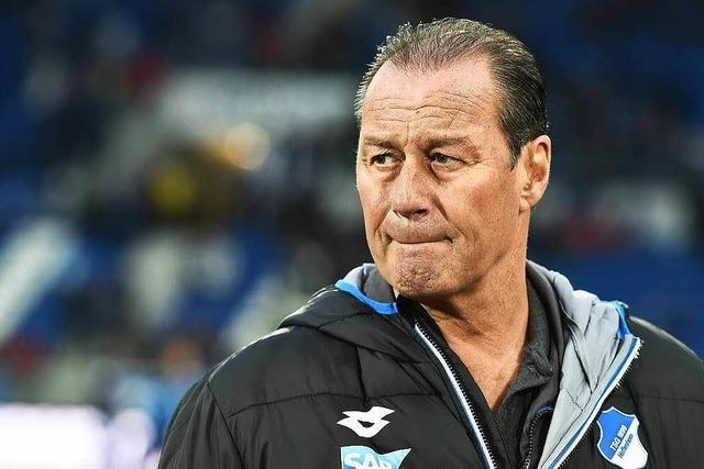 Trainer Stevens tritt in Hoffenheim zurück