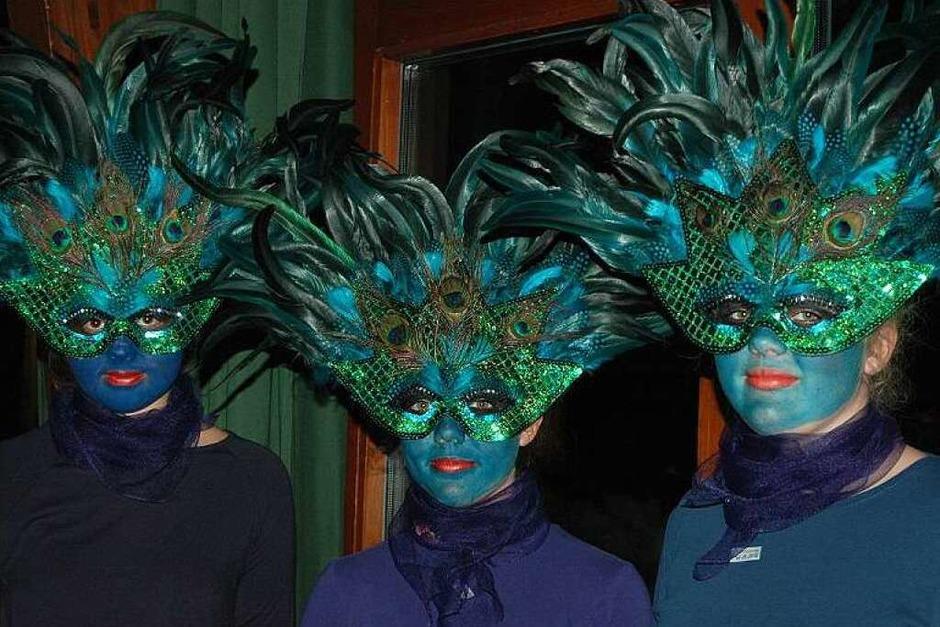 Bunt, lustig und kreativ ging es zum beim Preismaskenball der Geißentäler Zunft in Menzenschwand. (Foto: Christiane Sahli)