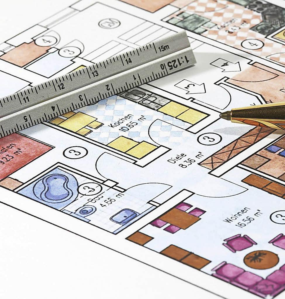 haus garten wie viel wohnfl che brauche ich badische. Black Bedroom Furniture Sets. Home Design Ideas