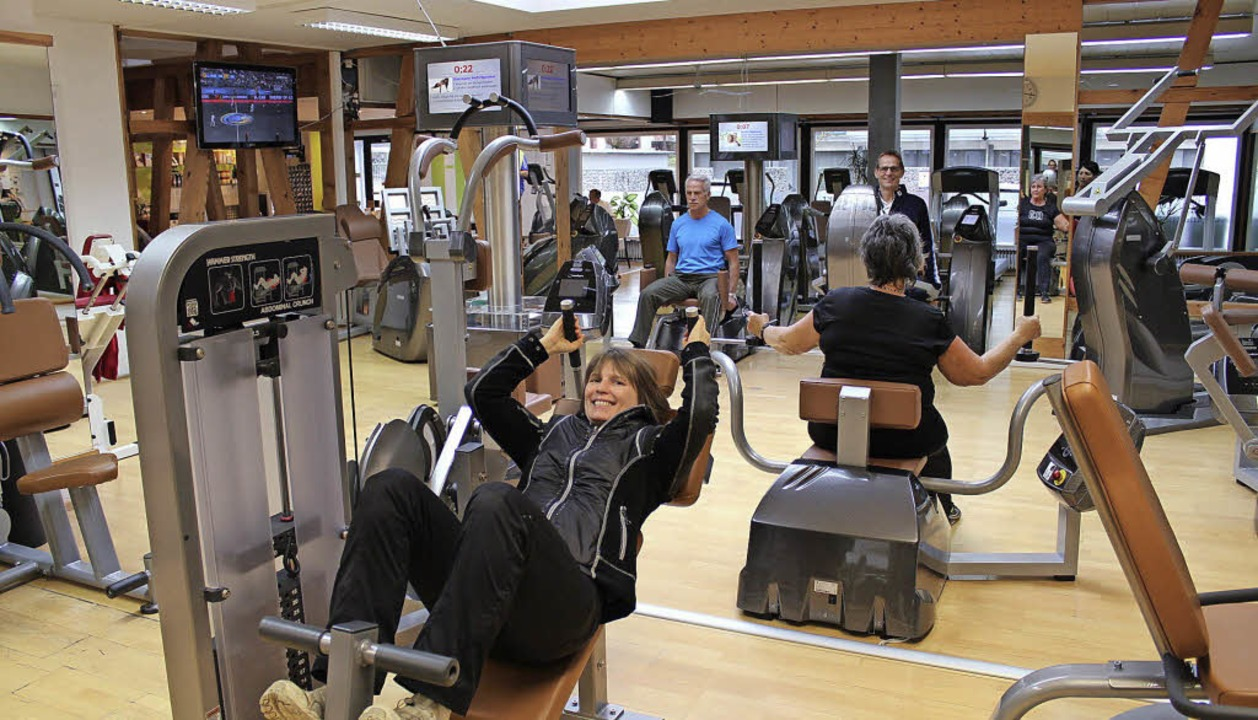 Wer fit und gesund bis ins hohe Alter ... wurde das Studio grundlegend saniert.    Foto: Karin Kaiser