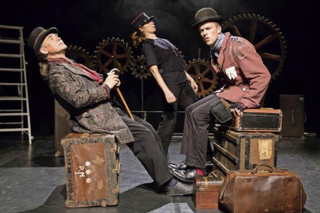 Das Theater R.A.B. spielt