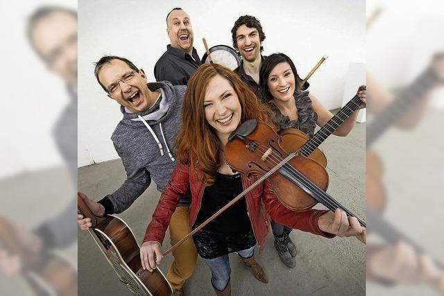 Die deutsche Band Cara im Salmen