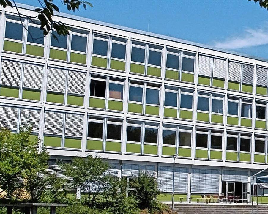 Gewerbliche Schule     Foto: BZ