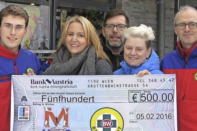 Bergwacht erhält Spende