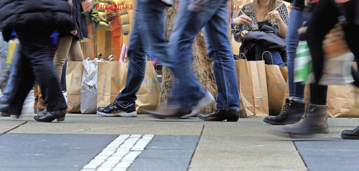 Bei Handel und Dienstleistern ist die Stimmung ungebrochen gut.   | Foto: dpa