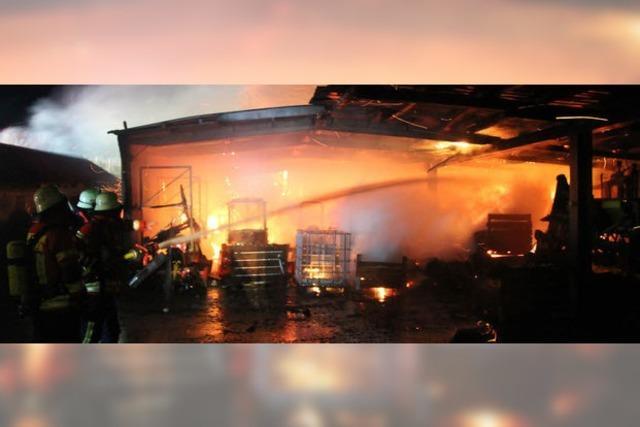 Aussiedlerhof vor Flammen gerettet
