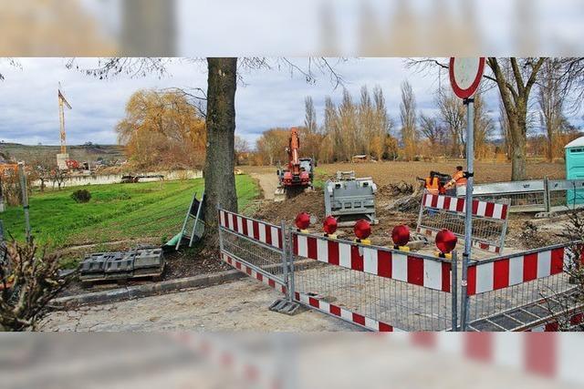 Keine Durchfahrt wegen Bauarbeiten