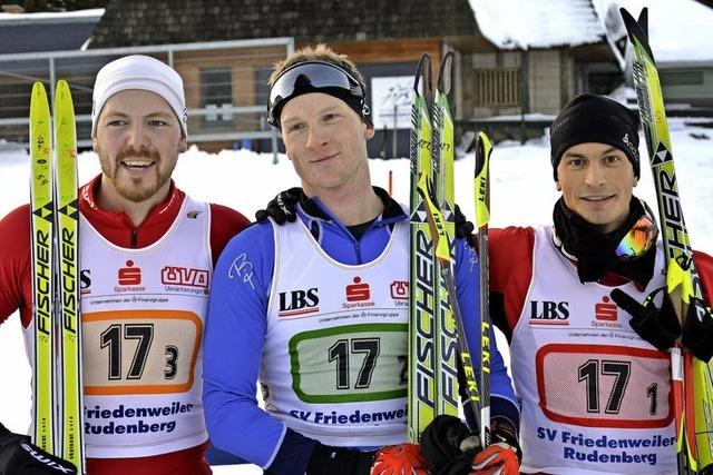 Erfolgreiche Ski-Staffeln