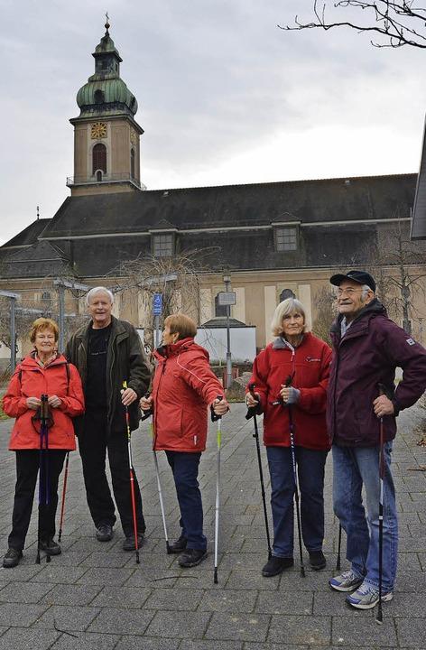 Donnerstags treffen sich die Teilnehme...ng neben dem Pfarreizentrum St. Josef.  | Foto: Danielle Hirschberger