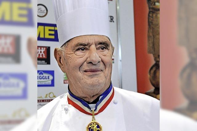 Der französische Küchenpapst Paul Bocuse feiert seinen 90. Geburtstag