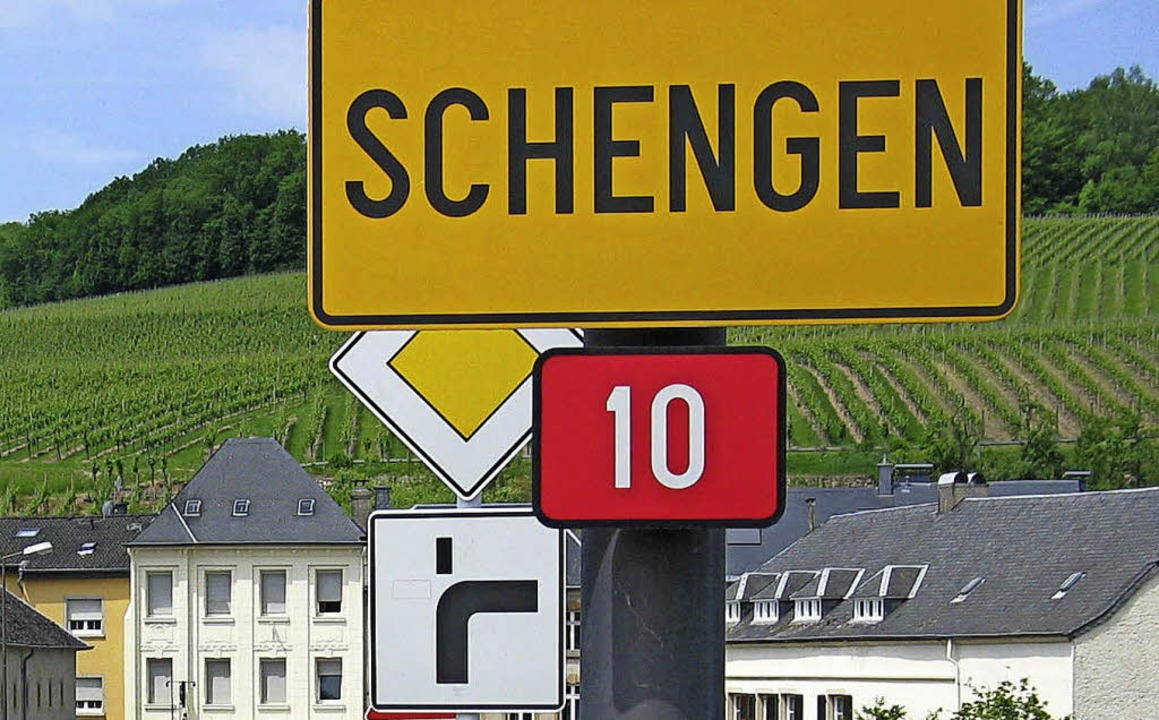 Weinberge, die Mosel und  ganz viel Europa: das Dorf Schengen  | Foto: Stölb