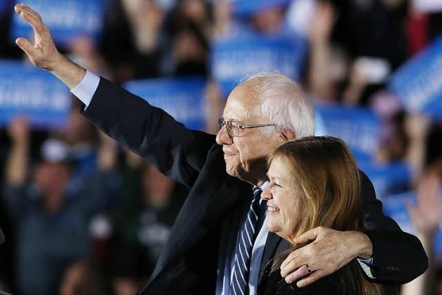 Donald Trump und Bernie Sanders gewinnen bei den US-Vorwahlen in New Hampshire