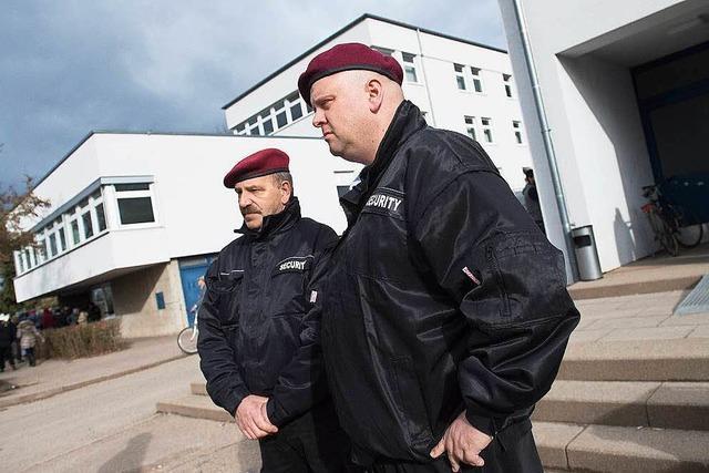 Regierungspräsidium will neue Verträge mit Securityfirmen