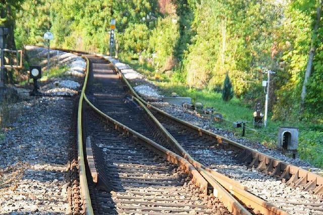 Sensoren sichern den eingleisigen Zugverkehr