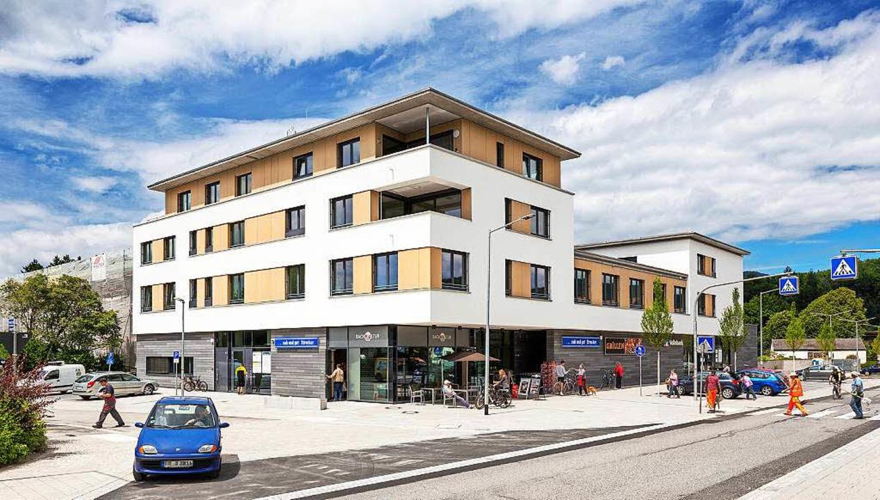 Das neue, ausgezeichnete Wohn- und Ges...uvereins in der Ortsmitte von Stegen.   | Foto: Bauverein Breisgau