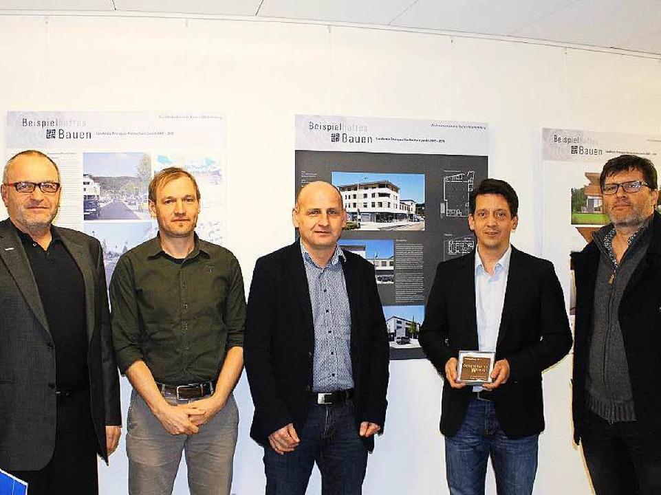 Ausgezeichnet (von links): Pit Müller,...der, Michael Simon und Gerhard Kerner   | Foto: Bauverein Breisgau