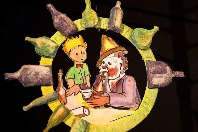 Inszenierung für Erwachsene und Kinder ab 12 Jahren im Figurentheater Allerhand Murg