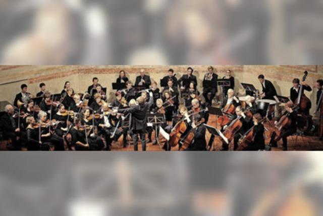 Musikkollegium Freiburg und Chor der Freunde des Berthold-Gymnasiums-Freiburg zu Gast in Müllheim