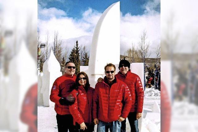 Schneeskulpturenwettbewerb in Colorado: Filigranes Werk aus Weil bricht zusammen