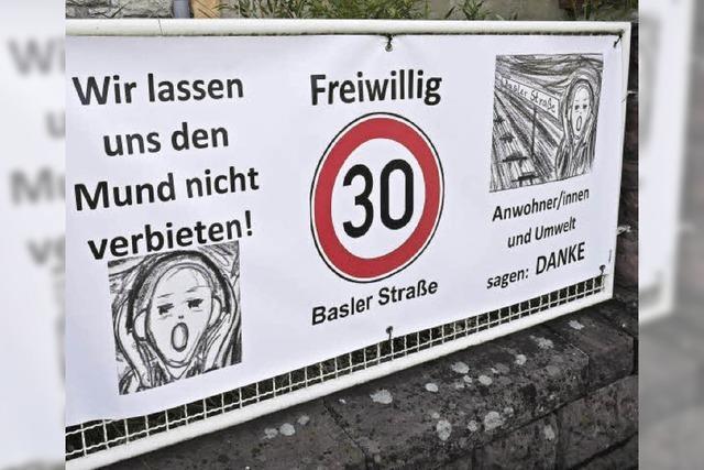 Ein Schrei aus der Basler Straße