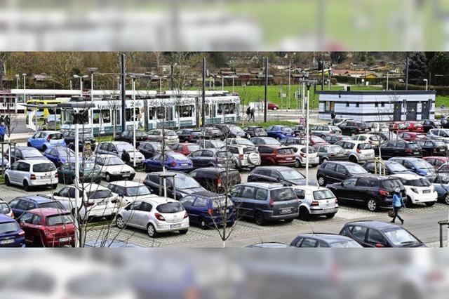 Park-and-Ride-Platz in Zähringen stößt an seine Grenzen