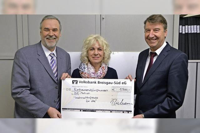 Kur und Bäder GmbH spendet 1500 Euro