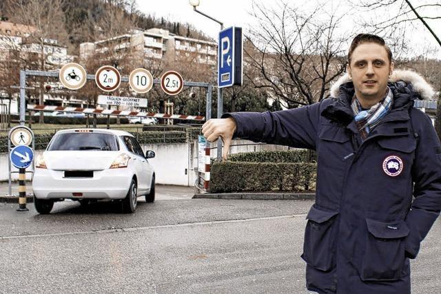 Parkplatznot in der Waldshuter Innenstadt