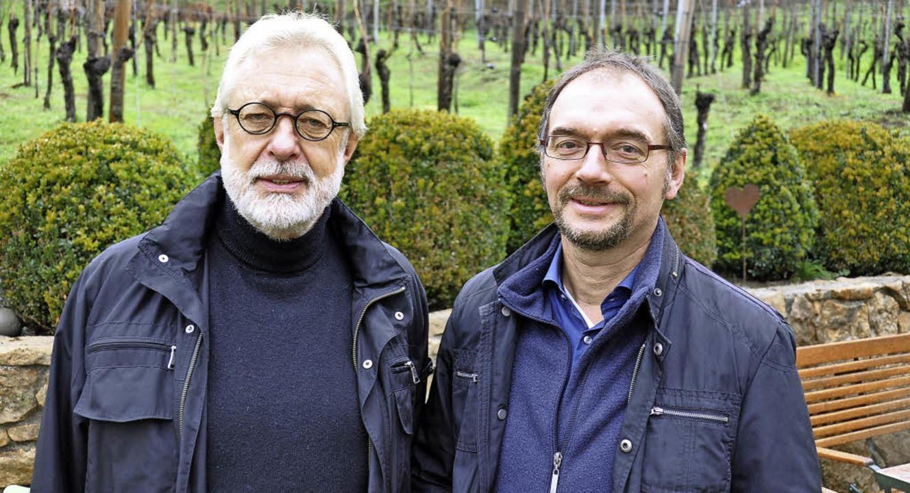 Horst Steffens (links) und Martin Ufheil    Foto: Kai Kricheldorff