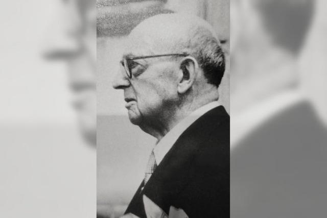 Vor 65 Jahren starb Georg van Eyck